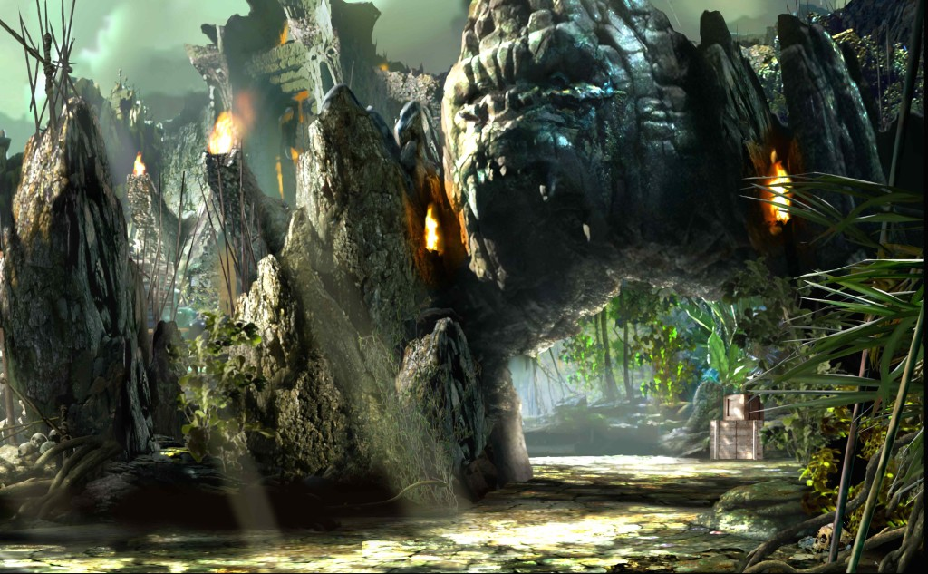 Skull Islands: The Reign of King Kong, Islands of Adventure